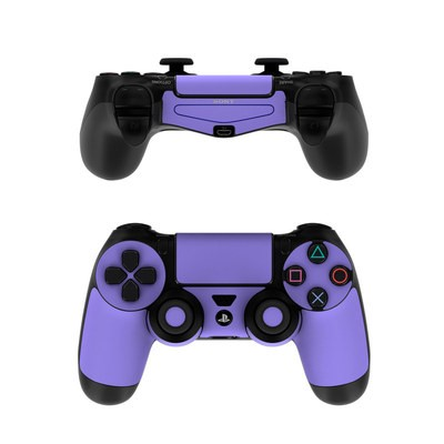 Sony PS4 Controller Skin - Solid State Purple