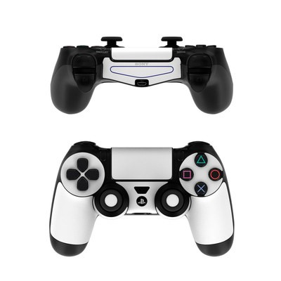 Sony PS4 Controller Skin - Solid State White