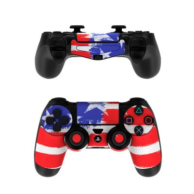 Sony PS4 Controller Skin - Stars + Stripes