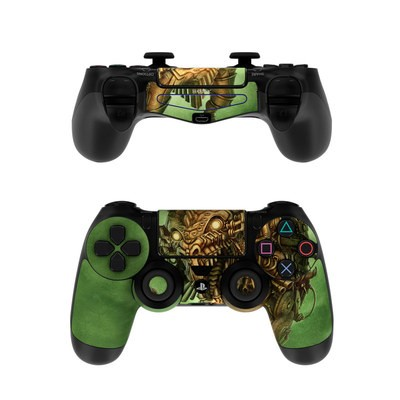 Sony PS4 Controller Skin - Steampunk Dragon