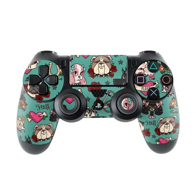 Sony PS4 Controller Skin - Tattoo Dogs