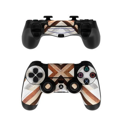 Sony PS4 Controller Skin - Timber