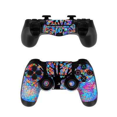 Sony PS4 Controller Skin - Tree Carnival
