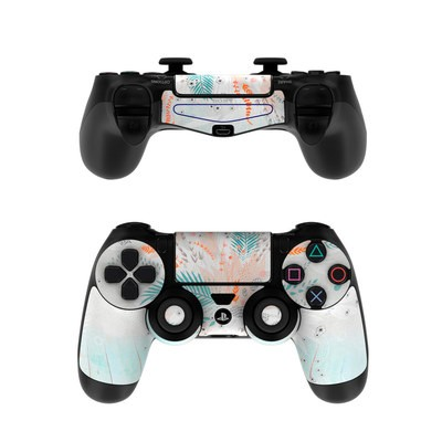 Sony PS4 Controller Skin - Tropical Fern