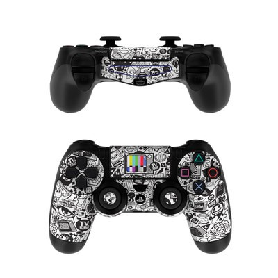 Sony PS4 Controller Skin - TV Kills Everything