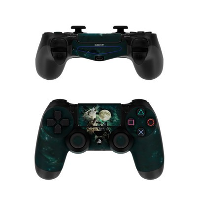 Sony PS4 Controller Skin - Three Wolf Moon
