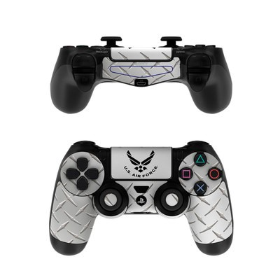 Sony PS4 Controller Skin - USAF Diamond Plate