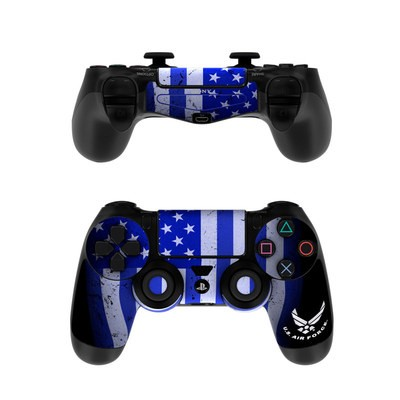 Sony PS4 Controller Skin - USAF Flag