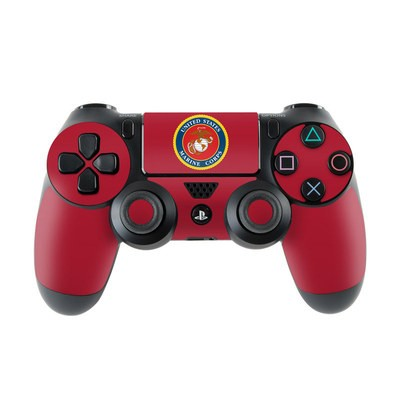 Sony PS4 Controller Skin - USMC Red