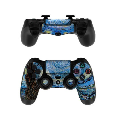 Sony PS4 Controller Skin - Starry Night