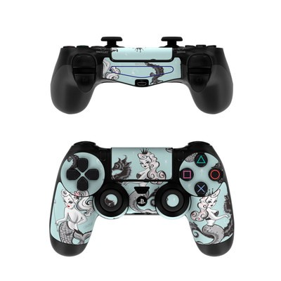 Sony PS4 Controller Skin - Vintage Mermaid