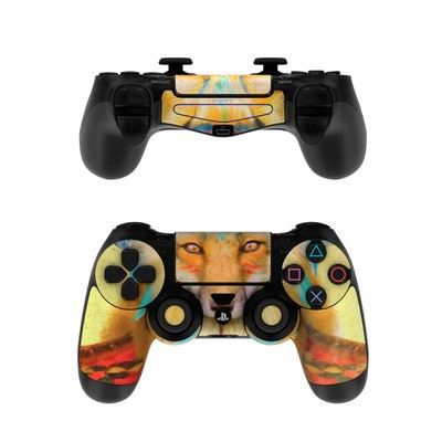 Sony PS4 Controller Skin - Wise Fox
