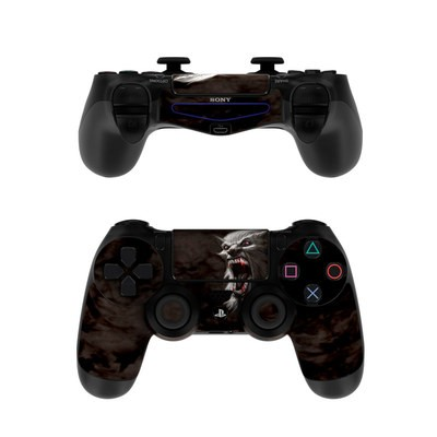 Sony PS4 Controller Skin - Wolfman
