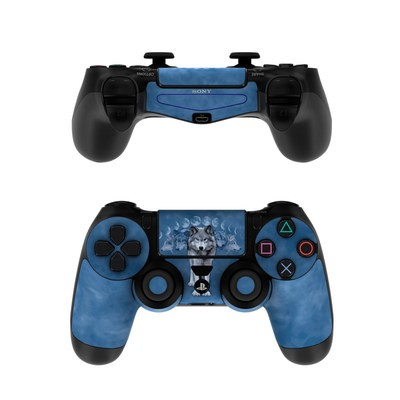 Sony PS4 Controller Skin - Wolf Cycle
