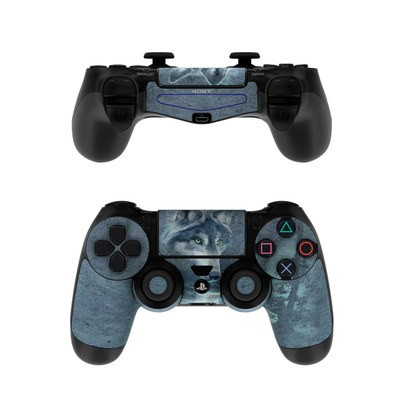Sony PS4 Controller Skin - Wolf Reflection