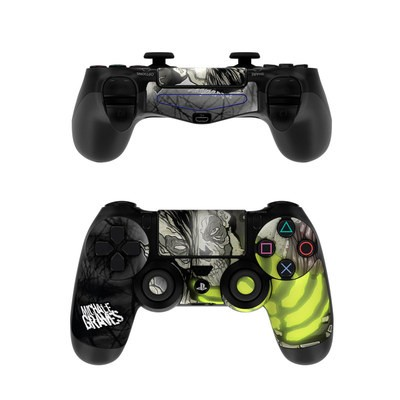 Sony PS4 Controller Skin - Zombie