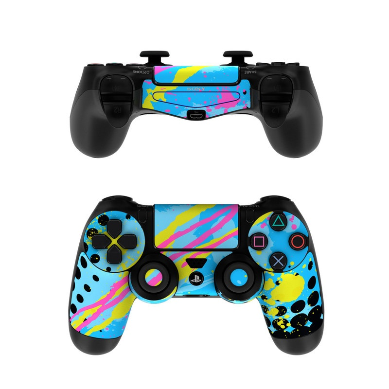 sony ps4 controller skin acid by fp decalgirl. Black Bedroom Furniture Sets. Home Design Ideas