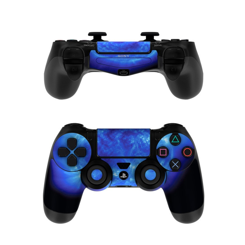 Game Controllers For Ps4 : Sony ps controller skin blue giant decalgirl