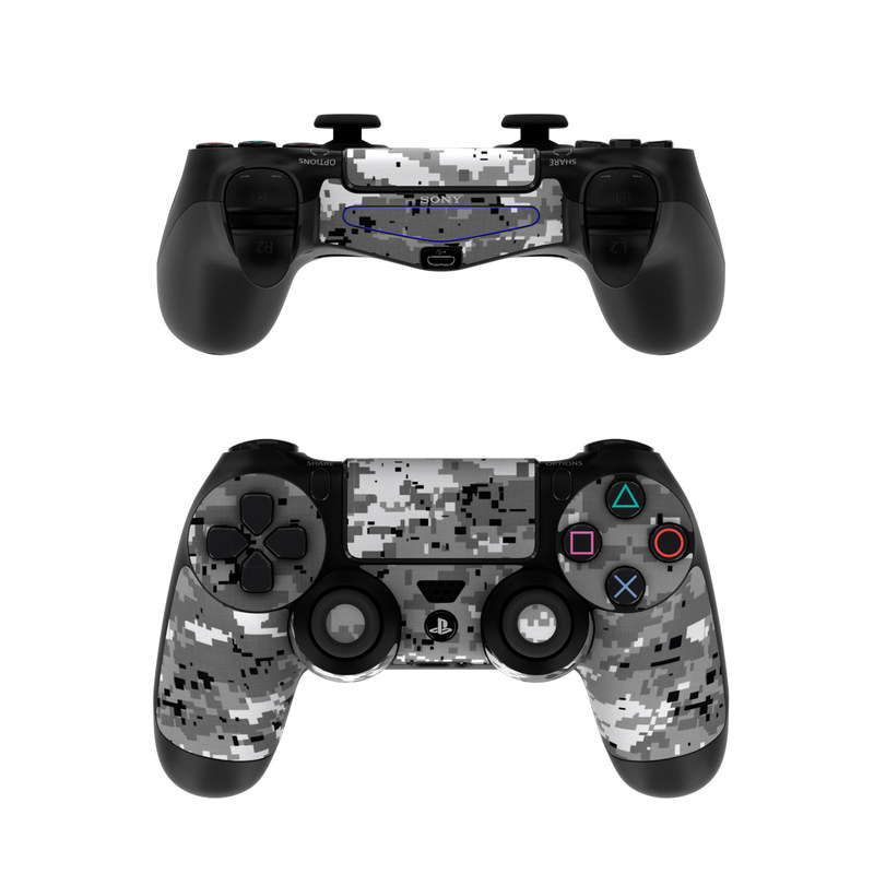 Sony ps4 controller skin digital urban camo by camo for Housse manette ps4