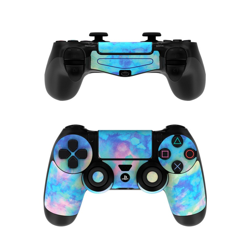 Game Controllers For Ps4 : Sony ps controller skin electrify ice blue by amy sia