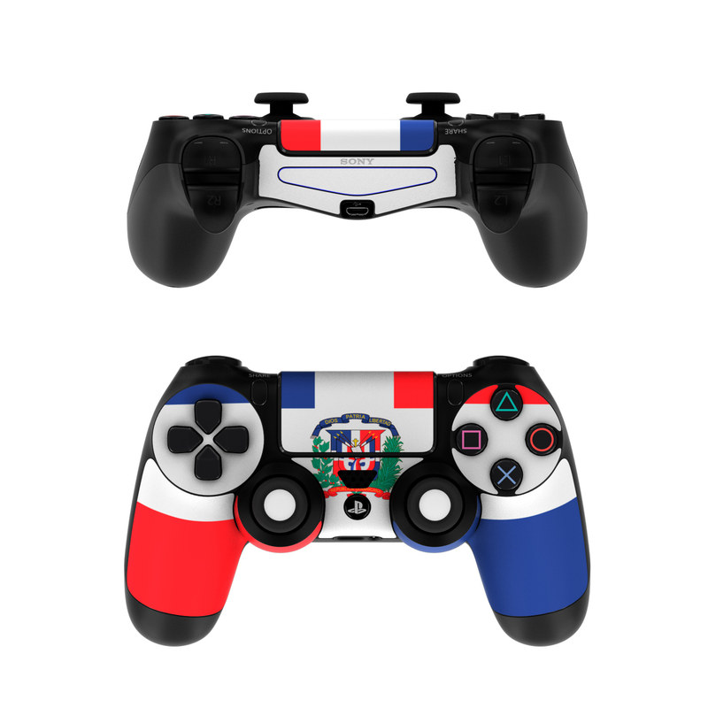 Sony PS4 Controller Skin  Dominican Republic Flag by Flags