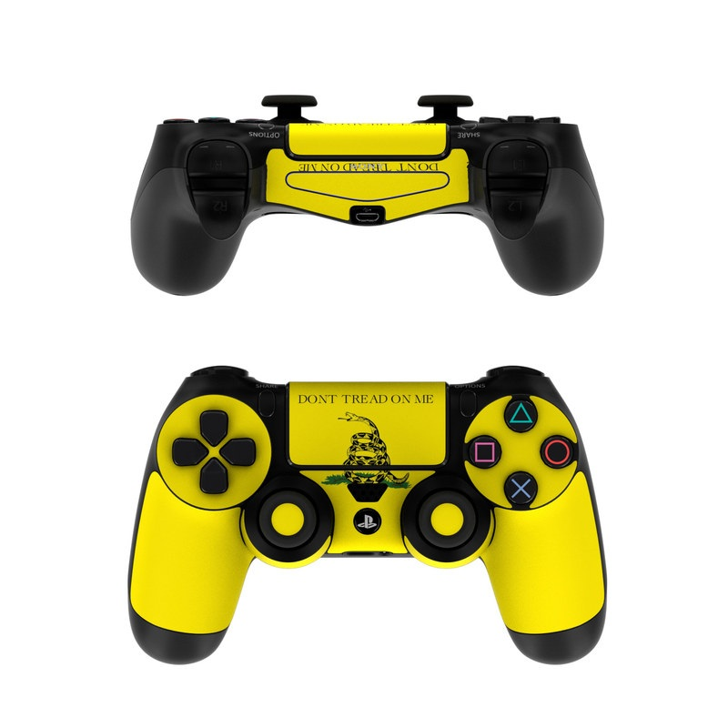 sony ps4 controller skin gadsden flag by flags decalgirl