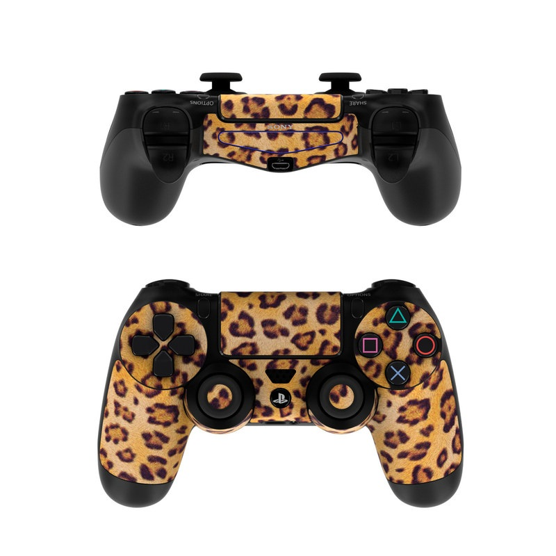 Sony Ps4 Controller Skin Leopard Spots By Animal Prints