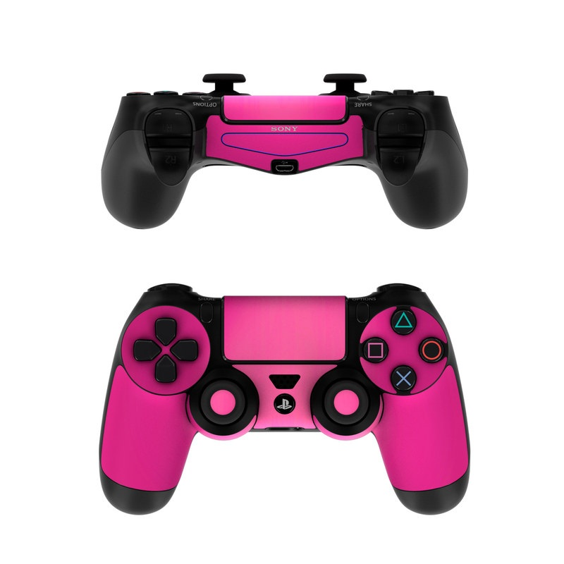 Sony PS4 Controller Skin - Pink Burst   DecalGirl