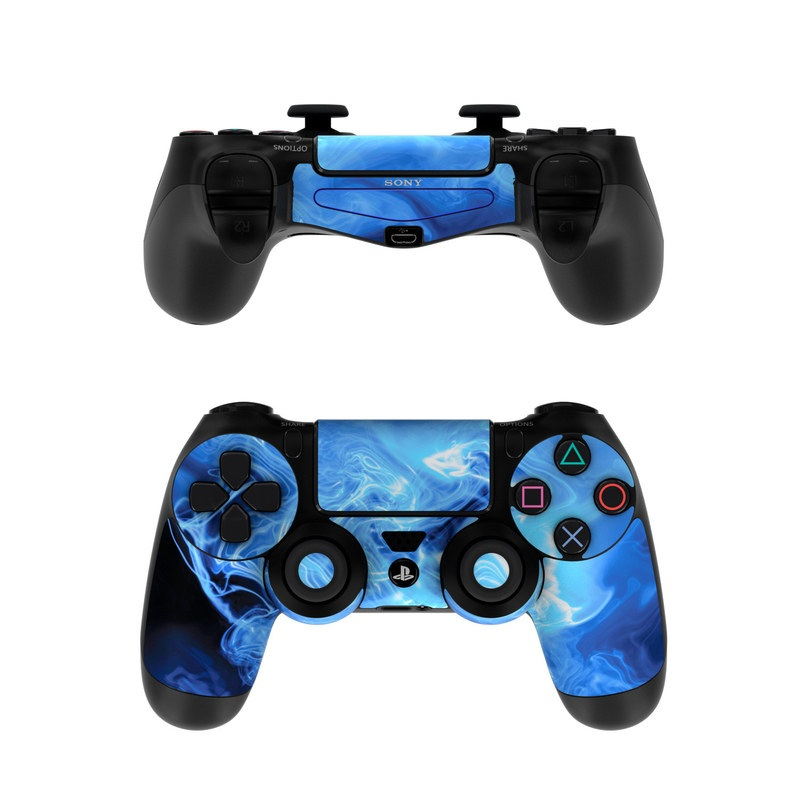 Game Controllers For Ps4 : Sony ps controller skin blue quantum waves by gaming