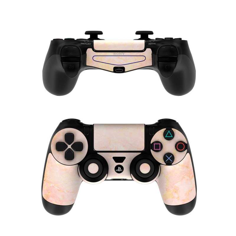 eb7c2758130 Sony PS4 Controller Skin - Rose Gold Marble by Marble Collection ...