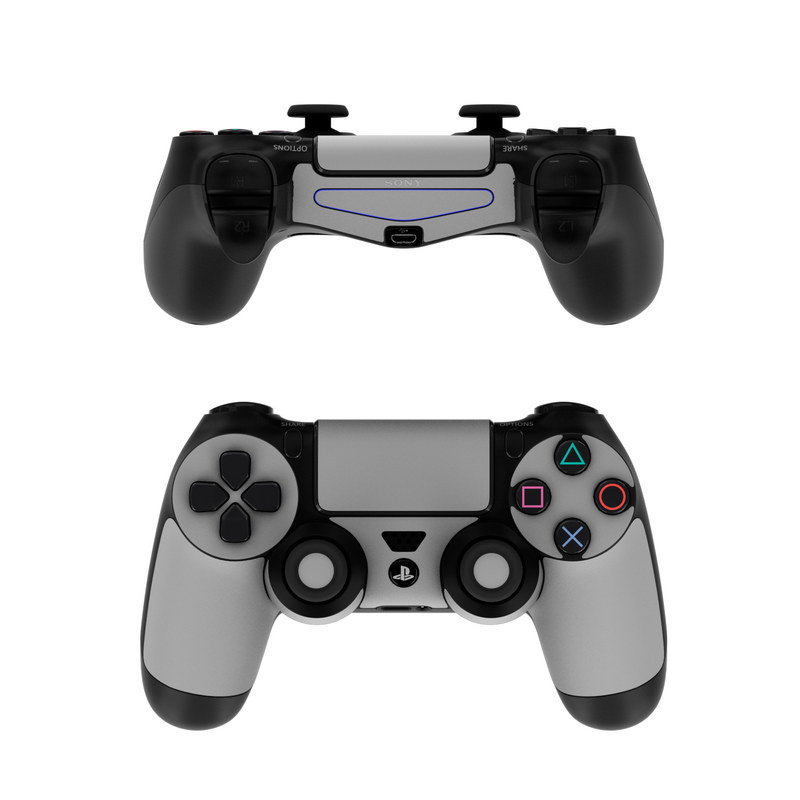 Sony PS4 Controller Skin - Solid State Grey by Solid Colors ...