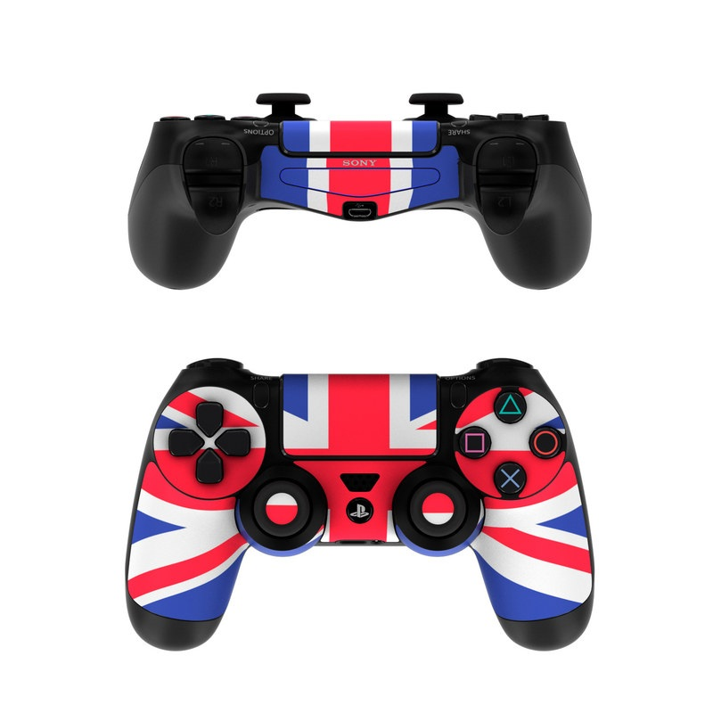 Sony Ps4 Controller Skin Union Jack By Flags Decalgirl