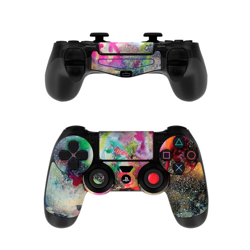 Sony ps4 controller skin universe by creative by nature for Housse manette ps4