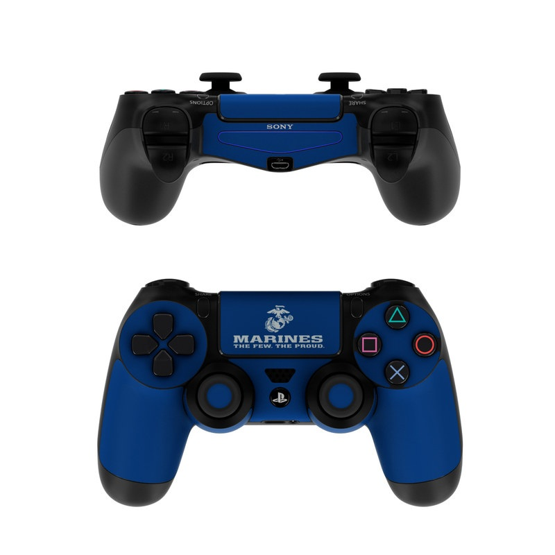Sony PS4 Controller Skin - USMC Blue by US Marine Corps ...