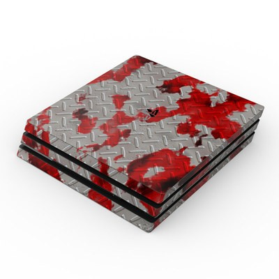 Sony PS4 Pro Skin - Accident