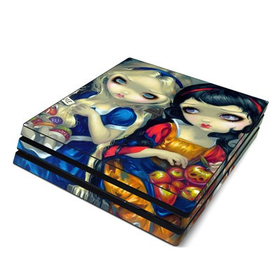 Sony PS4 Pro Skin - Alice & Snow White