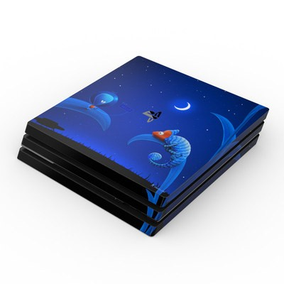 Sony PS4 Pro Skin - Alien and Chameleon