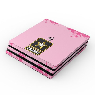 Sony PS4 Pro Skin - Army Pink