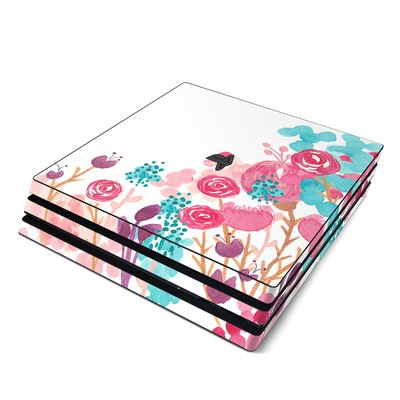 Sony PS4 Pro Skin - Blush Blossoms