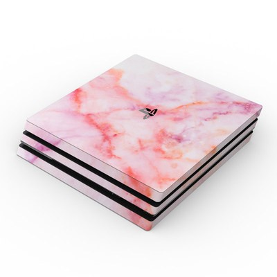 Sony PS4 Pro Skin - Blush Marble