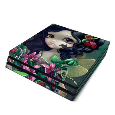Sony PS4 Pro Skin - Carnivorous Bouquet