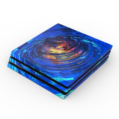 Sony PS4 Pro Skin - Clockwork