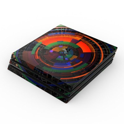 Sony PS4 Pro Skin - Color Wheel