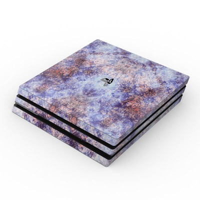 Sony PS4 Pro Skin - Batik Crackle
