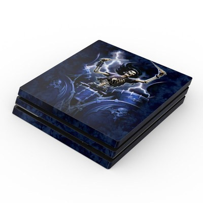 Sony PS4 Pro Skin - Death Drummer