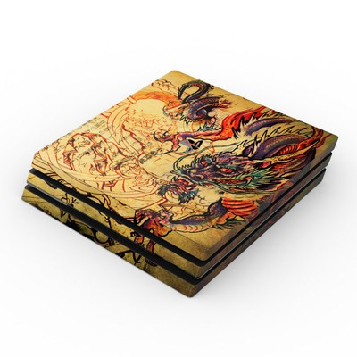 Sony PS4 Pro Skin - Dragon Legend