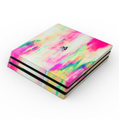 Sony PS4 Pro Skin - Electric Haze