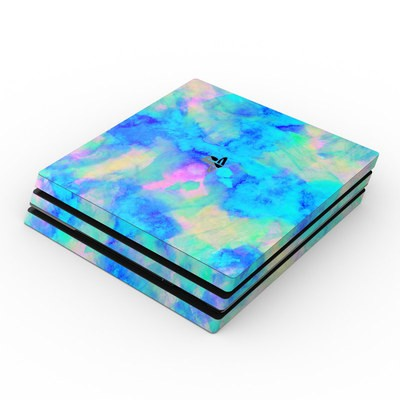 Sony PS4 Pro Skin - Electrify Ice Blue
