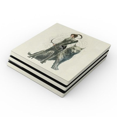 Sony PS4 Pro Skin - Half Elf Girl
