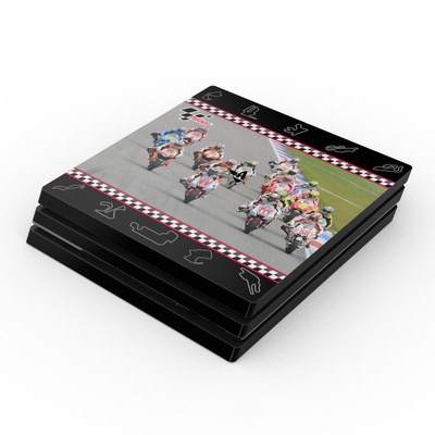 Sony PS4 Pro Skin - Finish Line Group